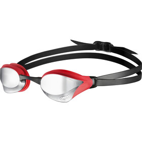 arena Cobra Core Mirror Maschera, silver-red-black